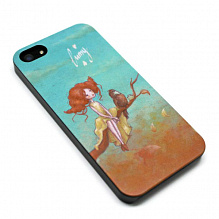 "Чехол для iPhone 5/5S/SE ""Lumy - Anytime we go away"""